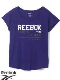 Women's Reebok GYMANA Graphic T-shirt (AZ5616) x6: £4.95